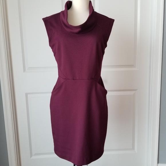 338a845ce047 Banana Republic Dresses | Burgundy Sheath Dress | Poshmark